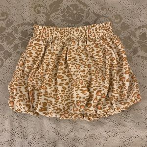 🙈 Old Navy Animal Print Bubble Skirt 🙈